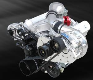 ATI / Procharger Superchargers - Chevy LS Procharger Transplant Kits - ATI/Procharger - LS / LSX Procharger Transplant Cog Race Kit with F-1C or F-1R for EFI/Carb