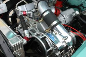 ATI / Procharger Superchargers - Chevy SBC & BBC Procharger Kits - ATI/Procharger - Chevy SBC & BBC Procharger Serpentine HO Intercooled Kit with F-1X for Aftermarket EFI/Carb