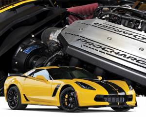 ATI / Procharger Superchargers - Chevy Corvette C7 Prochargers - ATI/Procharger - Corvette C7 Z06 Stingray 2015-2017 LT4 6.2L Procharger - F1A or F1D Race Intercooled TUNER Kit