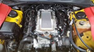 Intercooler Installed on Lower Intake