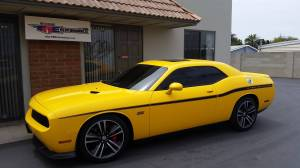Customer Rides - TREperformance - Dodge Challenger 2012 Yellow Jacket SRT 6.4L - Whipple Charged