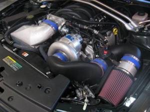 Vortech Superchargers - Ford Mustang 1999-2010 - Vortech Superchargers - Ford Mustang Bullitt V-Power 4.6 3V 2008 Vortech Supercharger - V-3 Si Complete Kit