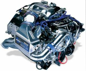 Vortech Superchargers - Ford Mustang Cobra High Output Charged Cooled 4.6 4V 1996-1998 Vortech Supercharger - V-3 Si Complete Kit
