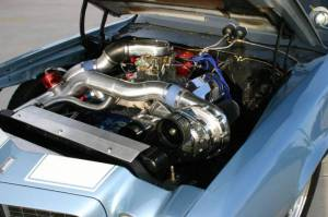 ATI / Procharger Superchargers - Chevy SBC & BBC Procharger Kits - ATI/Procharger - Chevy SBC & BBC Procharger Cog Race Intercooled Kit with F-2 for Aftermarket EFI/Carb