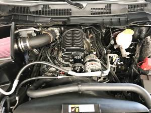 Whipple Superchargers - Dodge/Jeep Truck Whipple Superchargers - Whipple Superchargers - Whipple Dodge Ram Truck 5.7L Hemi 2013-2018 Supercharger Tuner Intercooled Kit W175FF 2.9L