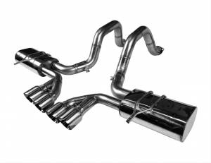 "Kooks Headers - Chevy Corvette C5 1997-2004 - Kooks Stainless Steel Axle Back (Polished Tip) 3"" x 3"""