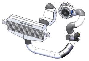 Standard HO Intercooler Setup