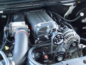 Whipple Superchargers - GM/Chevy Truck Whipple Superchargers - Whipple Superchargers - Whipple GM/GMC/Chevy 2007-2013 4.8L Truck Supercharger Intercooled No Flash Tuner Kit W140AX 2.3L