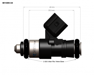 Injector Dynamics ID1300x Fuel Injectors GM LS3/LS7/L76/L92/L99