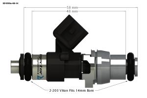 Injector Dynamics - Injector Dynamics ID1050 Fuel Injectors 2002-2009 Acura RSX - Image 2