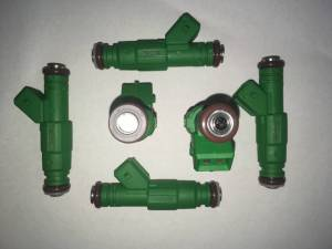 Fuel System - TRE Bosch Thin Body Style Fuel Injectors - TREperformance - TRE 42lb Bosch Thin Style Fuel Injectors - 6