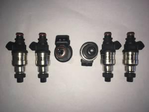TRE 1000cc Honda / Denso Style Fuel Injectors - 6