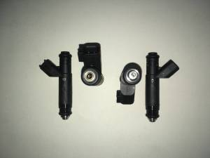 Fuel System - Genuine Bosch/Siemens/ASNU Injectors - Bosch / Siemens - Genuine 60lb Siemens USCAR  EV6 Fuel Injectors - 4