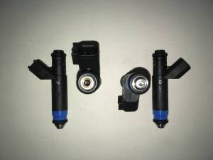Fuel System - Genuine Bosch/Siemens/ASNU Injectors - Bosch / Siemens - Genuine 80lb Siemens  USCAR EV6 Fuel Injectors - 4