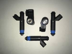 Fuel System - Genuine Bosch/Siemens/ASNU Injectors - Bosch / Siemens - Genuine 80lb Siemens  USCAR EV6 Fuel Injectors - 5