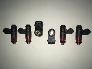 Fuel System - Genuine Bosch/Siemens/ASNU Injectors - Bosch / Siemens - Genuine 80lb Siemens Deka V EV1 Short Fuel Injectors - 6