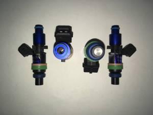 ASNU Fuel Injectors - ASNU FIC 1050cc EV1 Denso Style Fuel Injectors Bosch - 4