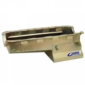Oil System - Canton Drag Race Oil Pans - Canton Racing Products - Canton Drag Race Chevy BBC Mark 4 Blocks 8qt Oil Pan