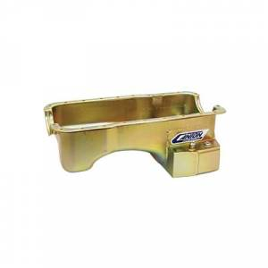 Canton Street/Strip/Road Race Oil Pans - Ford Street/Strip/Road Race Oil Pans - Canton Racing Products - Ford Mustang 351W Canton 7 Quart T-Style Rear Sump Oil Pan