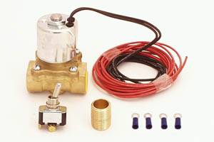 Oil System - Canton Accusump Accessories - Canton Racing Products - Accusump Electric Valve Kit