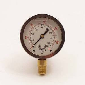 Oil System - Canton Accusump Accessories - Canton Racing Products - Accusump Liquid Filled Stainless Steel Gauge 0-160 PSI