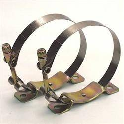 Oil System - Canton Accusump Accessories - Canton Racing Products - Accusump Mounting Clamps 1 QT