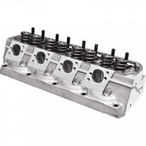 "Cylinder Heads - Trickflow - Trick Flow High Port SBF 225cc Cylinder Heads 70cc O-Ring 1.55"" Valve Springs Titanium"