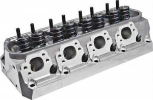 """TFS Cylinder Heads - Small Block Ford - Twisted Wedge Street Cylinder Heads for Small Block Ford - Trickflow - Trickflow Twisted Wedge Race SBF 206cc Cylinder Heads 61cc 1.640"""" Springs Titanium"""