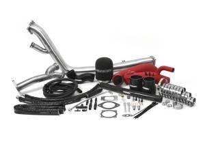 Exhaust - Perrin Rotated Piping Kit Subaru - Perrin Performance - Perrin Rotated Turbo Piping Kit for 2002-2007 Subaru WRX/STI
