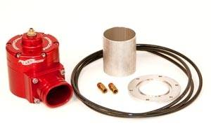 ATI/Procharger - ATI Red Race Valve With Mounting Hardware - Enclosed (Aluminum Flange)
