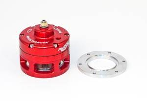 ATI/Procharger - ATI Red Race Valve With Mounting Hardware - Open (Aluminum Flange)