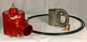 ATI/Procharger - ATI Red Race Valve With Mounting Hardware - Enclosed (Steel Flange)