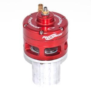 ATI/Procharger - ATI Red Race Valve With Mounting Hardware - Open (Steel Flange)