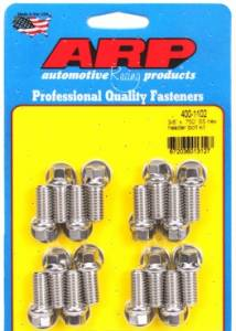 """Cylinder Heads - ARP Fasteners - Automotive Racing Products - ARP Header Bolt & Stud Kits Chevrolet Big Block & Ford, 0.750"""" UHL - Stainless Steel"""