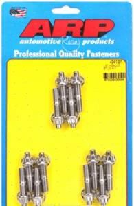 "Cylinder Heads - ARP Fasteners - Automotive Racing Products - ARP Header Bolt & Stud Kits Chevrolet Gen III/LS Series SB, 1.750"" OAL, 12 pcs"