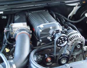 Whipple Superchargers - GM/Chevy Truck Whipple Superchargers - Whipple Superchargers - Whipple GM/GMC/Chevy 2003-2006 5.3L Truck Supercharger Intercooled No Flash Tuner Kit W140AX 2.3L