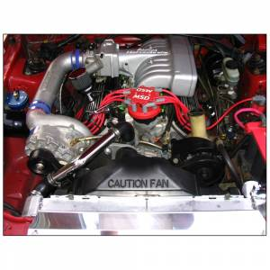 Vortech Superchargers - Ford Mustang 1986-1998 - Vortech Superchargers - Ford Mustang High Output 5.0L 1986-1993 Vortech Supercharger - V-1 H/D Ti Complete Kit