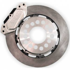 Brakes - Aerospace Components - Aerospace Ford 8.8 Rear Pro Street Disc Brakes 4 Lug w/ C-Clip Elims