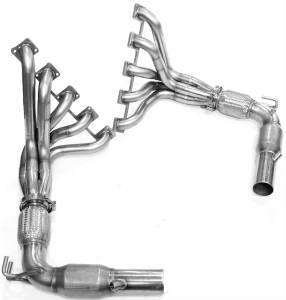 "Kooks Headers - Kooks Headers HEMI - Kooks Headers - Dodge Viper 2003-2006 - Kooks Stainless Steel Long Tube Headers 1 3/4"" x 3"""