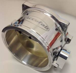 Accufab Throttle Bodies - Accufab - Mustang 86-93 - Accufab Racing - Accufab 125mm Universal Race Clamshell Clamp Throttle Body