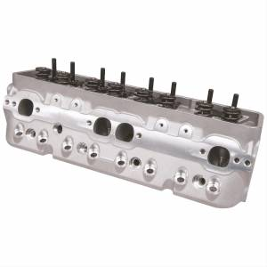 "TFS Cylinder Heads - Small Block Chevy - Super 23 Street Cylinder Heads for Small Block Chevrolet - Trickflow - Trickflow Super 23, SB Chevy, 175cc Intake, 1.460"" Dual Springs, Center Bolt"
