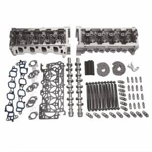 Top End Engine kits  - Ford Top End Engine Kits - Trickflow - Trick Flow 380 HP Twisted Wedge Track Heat 44cc Top-End Engine Kits for Ford 4.6L