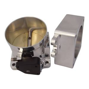 Accufab Racing - Accufab 90mm 86-93 Mustang 5.0L Throttle Body w/Blank Spacer - Image 2