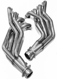 "Kooks Headers - Cadillac CTS-V 2009-2014 Kooks Stainless Steel Long Tube Headers & Off Road X-Pipe 1 7/8"" x 3"""