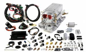 Holley EFI Injection Kits - Holley Avenger EFI Fuel Injection Systems - Holley - Holley Avenger EFI Stealth Ram Fuel Injection System For SBC 1995 and Earlier - Polished