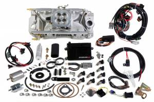 Holley EFI Injection Kits - Holley Avenger EFI Fuel Injection Systems - Holley - Holley Avenger EFI Oval Port BBC 4BBL Ram Fuel Injection System - Polished
