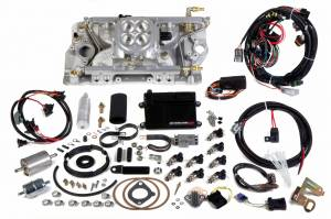 Holley EFI Injection Kits - Holley Avenger EFI Fuel Injection Systems - Holley - Holley Avenger EFI SBC Ram Fuel Injection System - Polished