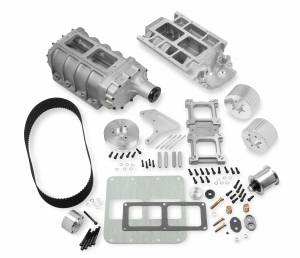 "Weiand Superchargers - Chevy Big Block Weiands - Weiand Superchargers - Chevy Big Block Standard Deck Weiand - Satin 6-71 Street Supercharger 1/2"" Pitch Drive Kit"