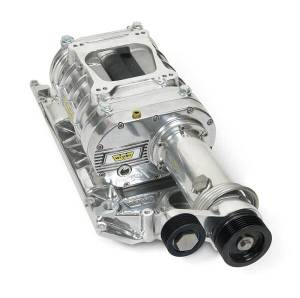 Weiand Superchargers - Chevy Small Block Vortec L31 Head Weiand - Polished 142 Universal Supercharger Kit