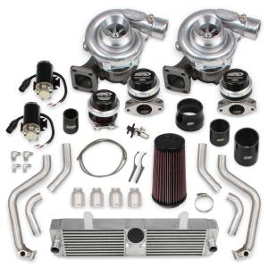 Turbochargers - Holley Twin Turbo Systems - Holley - Corvette C6 2009-2013 LS3 Holley STS Twin Turbo System Without Tuner & Fuel Injectors